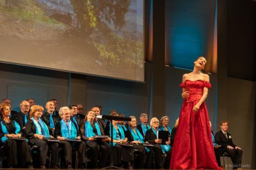 Karoline Pilcz, Stefano Torchio, Chor: Gesellschaft der Musikfre