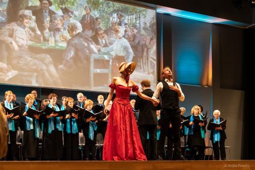 Christian Kotsis, Karoline Pilcz, Stefano Torchio, Chor: Gesells